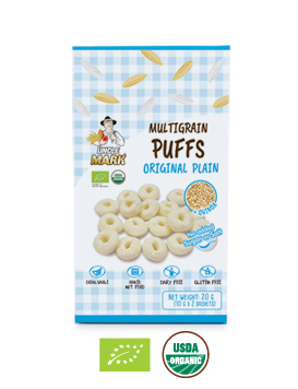 Uncle Mark,Multigrain Puffs Original Plain